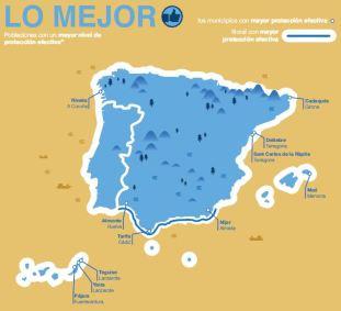 Figura 15. Lo mejor de la costa española