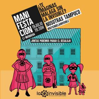 20180717_Casa_Invisible_cartel_manifestacion
