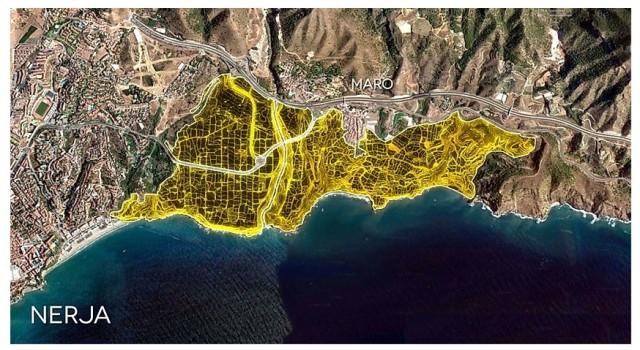 Plano del 'Plan Larios' sobre 200 ha de alto valor agrícola, cultural y paisajístico