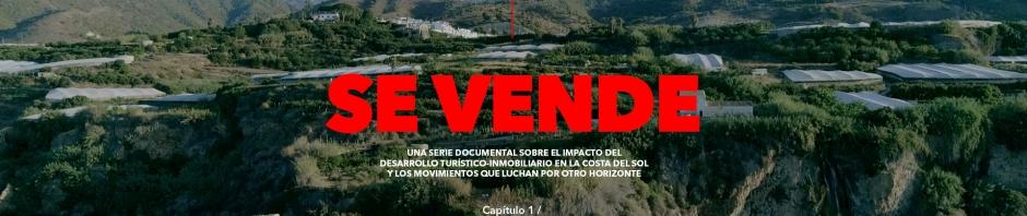 Banner documental 'Se vende'
