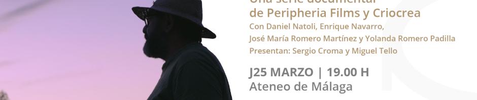 Cartel sesión Ateneo Málaga